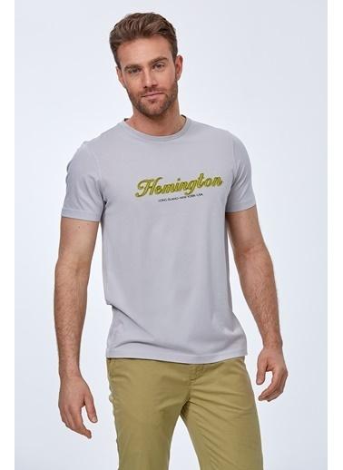 Hemington Tişört Gri